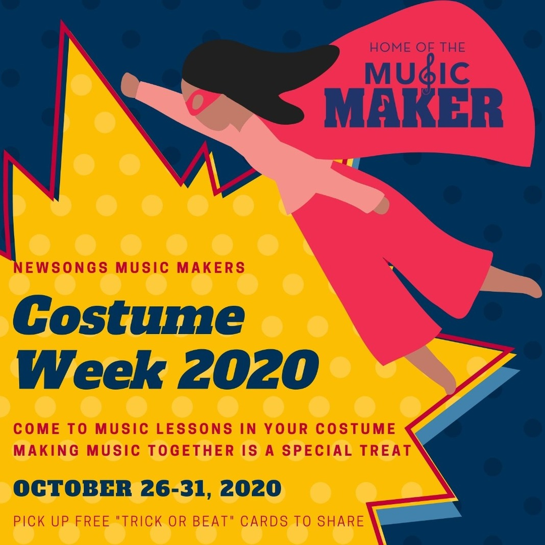 Wear Your Costume to Music Lessons 😊 Image