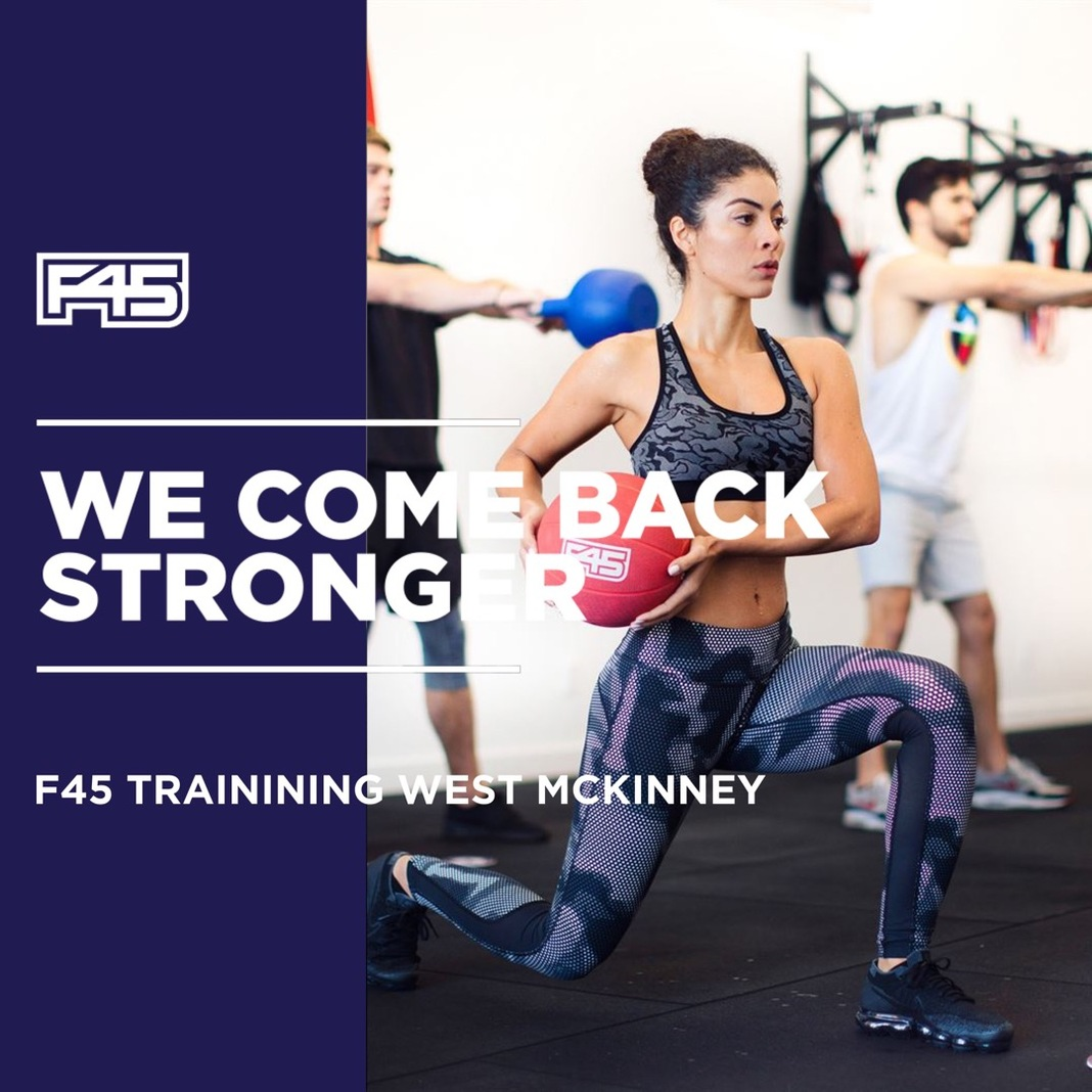 F45 West McKinney - 4 DAYS to ReOpening - Sign Up Now! Image