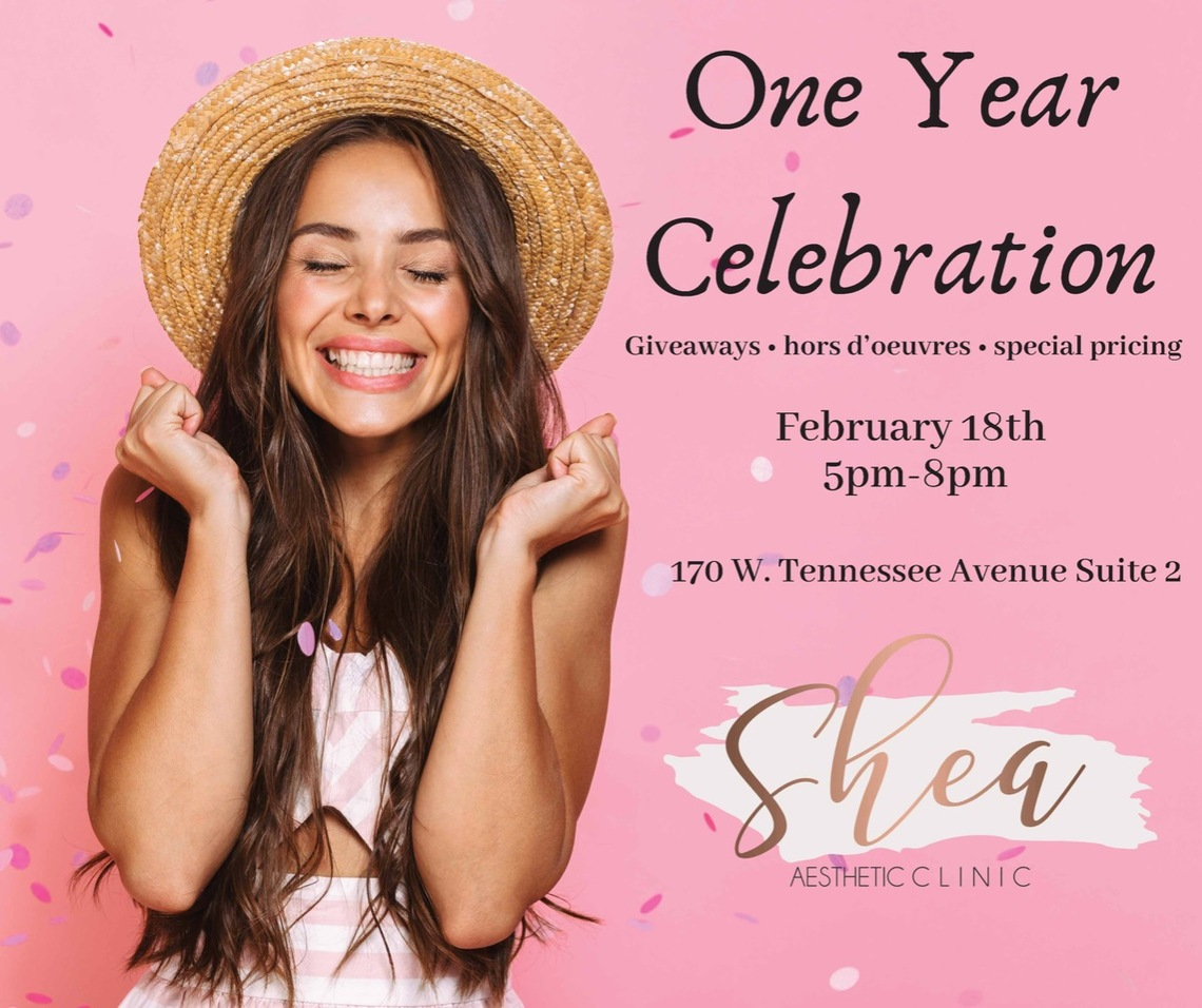 Shea Aesthetic Clinic's One Year CELEBRATION😀😃   Image