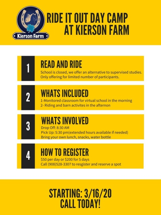 Kierson Farm Offers Ride It Out Camp Image