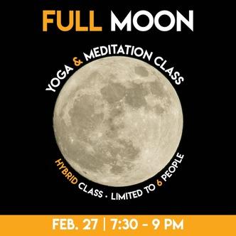 It's a Saturday night Full Moon! Image