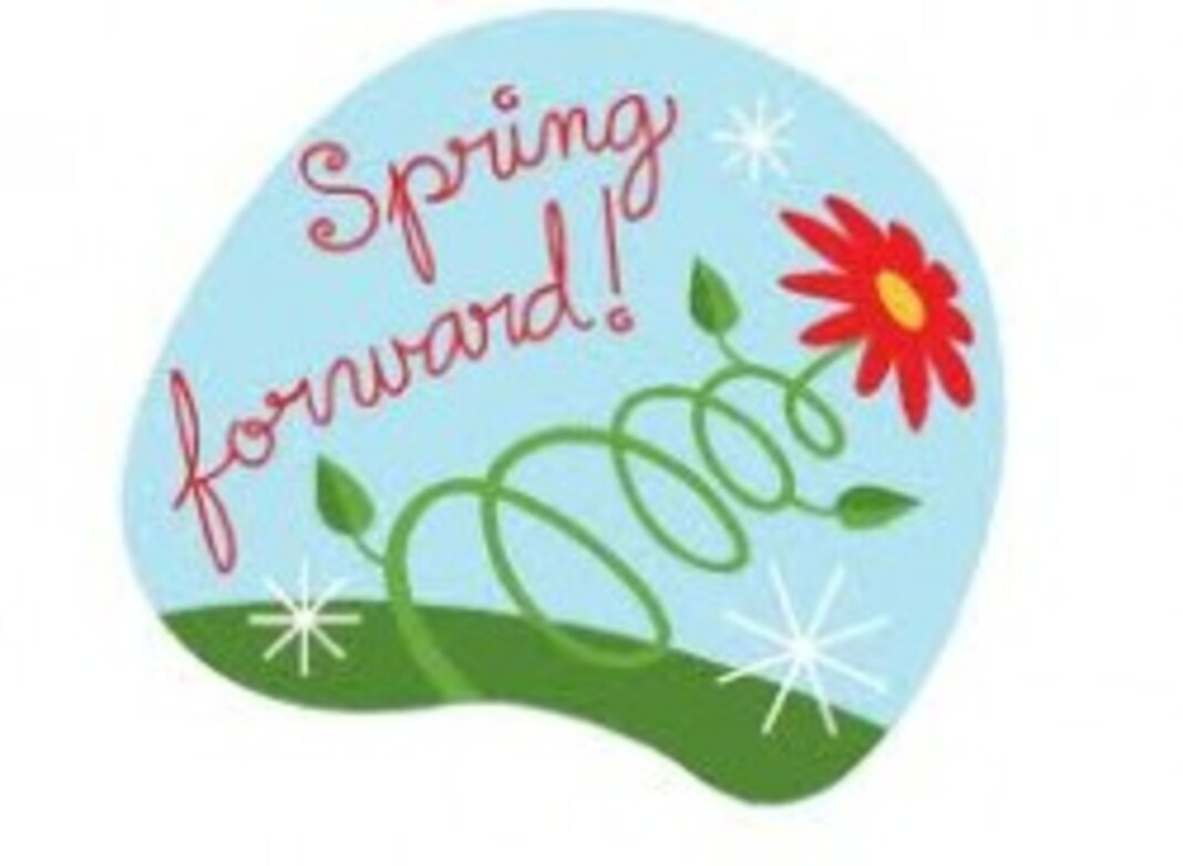 It's time to Spring Forward! Image