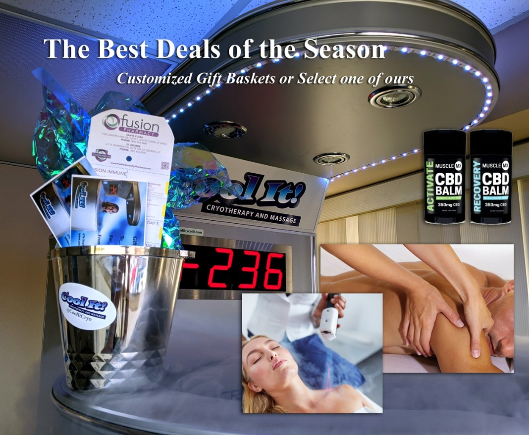 Best Deals at Cool It! Cryotherapy and Massage Image
