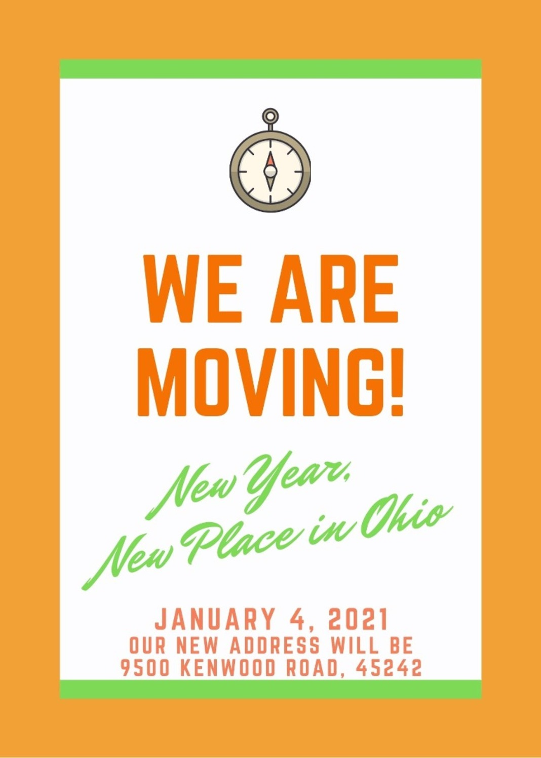 We Are Moving in the New Year!😄⭐️ Image